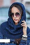 Женская модная шапка-капор ХИТ (расцветки), фото 5