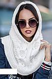 Женская модная шапка-капор ХИТ (расцветки), фото 6