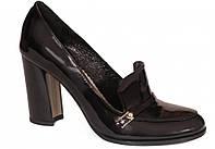 Туфли черные лаковые ТМ Лидер