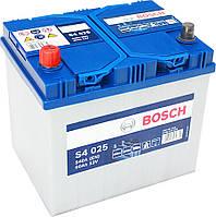 Аккумулятор Bosch S4 025 Silver 60Ah 12V Азия (0092S40250)