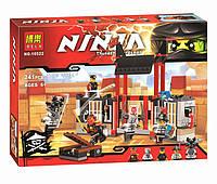 """Детский конструктор Bela Ninja 10522 (аналог Lego Ninjago 70591) """"Побег из тюрьмы Криптариум"""" 241 дет"""