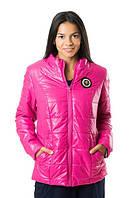 Малиновая куртка женская демисезонная