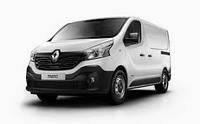 Защита заднего бампера Renault Trafic (2015-...)