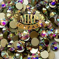 Стразы DMC Premium, цвет Crystal AB, ss2 (1мм), 100шт