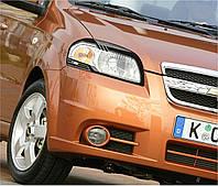 Захист передніх фар Chevrolet Aveo T250 2006+ Шевролет Авео