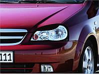 Захист передніх фар Chevrolet Lacetti 2003+ седан Шевролет Лачеті