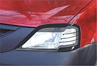 Захист передніх фар Dacia\ Renault Logan 2005+ Логан