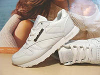 Кроссовки для бега Reebok classic белые 37 р.