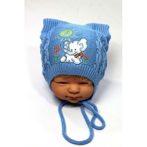Вышивка на шапках для мальчиков