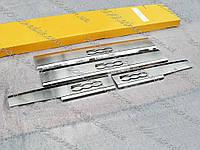 FIAT 500L 2012—2018 Накладки на пороги