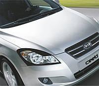 Захист передніх фар Kia Ceed 2006-2012 р. в. Кіа Сід