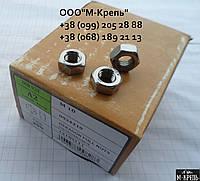 Гайка М5 ГОСТ5915-70 из нержавейки А2 и А4