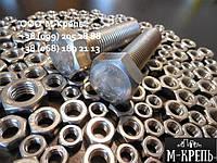Гайка М20 ГОСТ 5915-70, ГОСТ 5927-70, DIN 934 из сталей А2 и А4