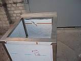 Мойка односекционная из нержавеющей стали, фото 3