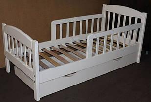 """Односпальная подростковая кровать """"Американка"""" с бортиками"""