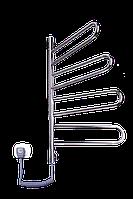 Полотенцесушитель Флюгер 4 поовротный нержавейка