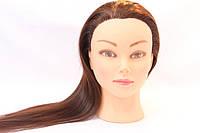 Голова для моделирования причесок искусственная 518-C-30 (50-55 см) 240 градусов