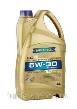 Масло мотор. RAVENOL FO  5W30, 4л