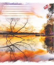 Тетрадь Цветная 18 листов (линия) Картинки в ассортименте