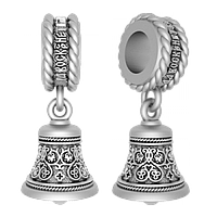 Серебряная Шарм Бусина «Благовест»