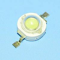 Светодиод 1Вт белый DRP-1WXSJ30W (100-120Lm), Китай