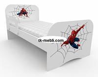Кровать детская/подростковая для мальчиков Спайдермен
