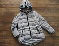 Демисезонная куртка на синтепоне для девочек  16 лет
