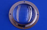 Линза светодиодной матрицы LED Lens 20-120W 80°-100° коллиматор
