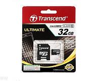 Карта памяти Micro SDHC Class (10) 32GB Transcend TS32GUSDHC10