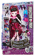Кукла Дракулаура Фотокабина \ Monster High Dance The Fright Away Transforming Draculaura Doll