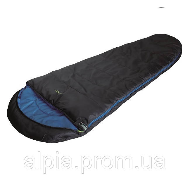 Спальный мешок High Peak TR 300/+0°C (Right) Black/blue