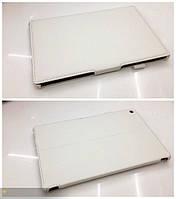 Белый конвертируемый чехол на Sony Xperia Tablet Z из синтетической кожи.