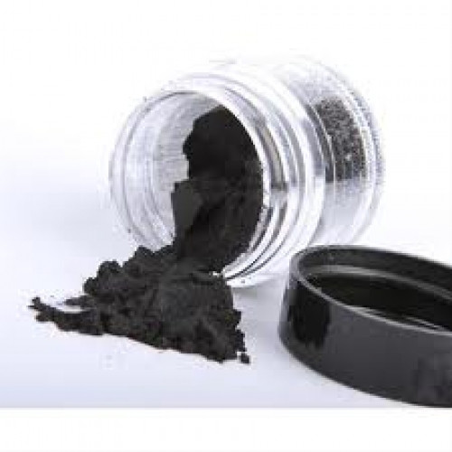 Пигменты высококачественные Перлекс Pearl Ex Перлекс (США) черный карбон 640,пробник 0.5