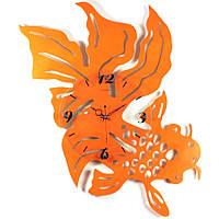 Настенные часы Вуалехвост Оранжевый