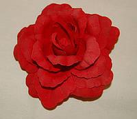 23 Головка розы бархат
