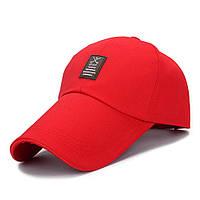 Бейсболка Golf Красная, Унисекс
