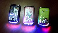 Hello Kitty телефон раскладушка для девочки Nokia W 999 (2 Sim, хеллоу китти)