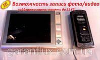 Домофон LUXURY 806-B HD R2 JS с функцией записи и экраном 8 дюймов белый
