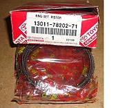 Кольца поршневые TOYOTA двигатель 1DZ, 1DZII STD 13011-78202-71
