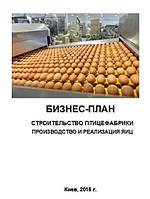 Бизнес – план (ТЭО). Птицефабрика. Яйцо куриное. Куриное мясо и субпродукты. Цех убоя, переработки и фасовки