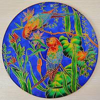 Декоративная тарелка витраж, фото 1