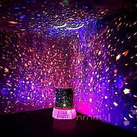 Ночник Star-master pink USB