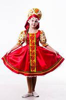 Хохлома русский народный костюм для девочки