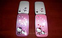 Hello Kitty Samsung W777 модная раскладушка для девочек (Duos, 2 SIM хеллоу китти)