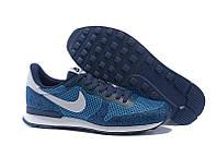 Кроссовки мужские Nike Internationalist (найк интернационалист) синие