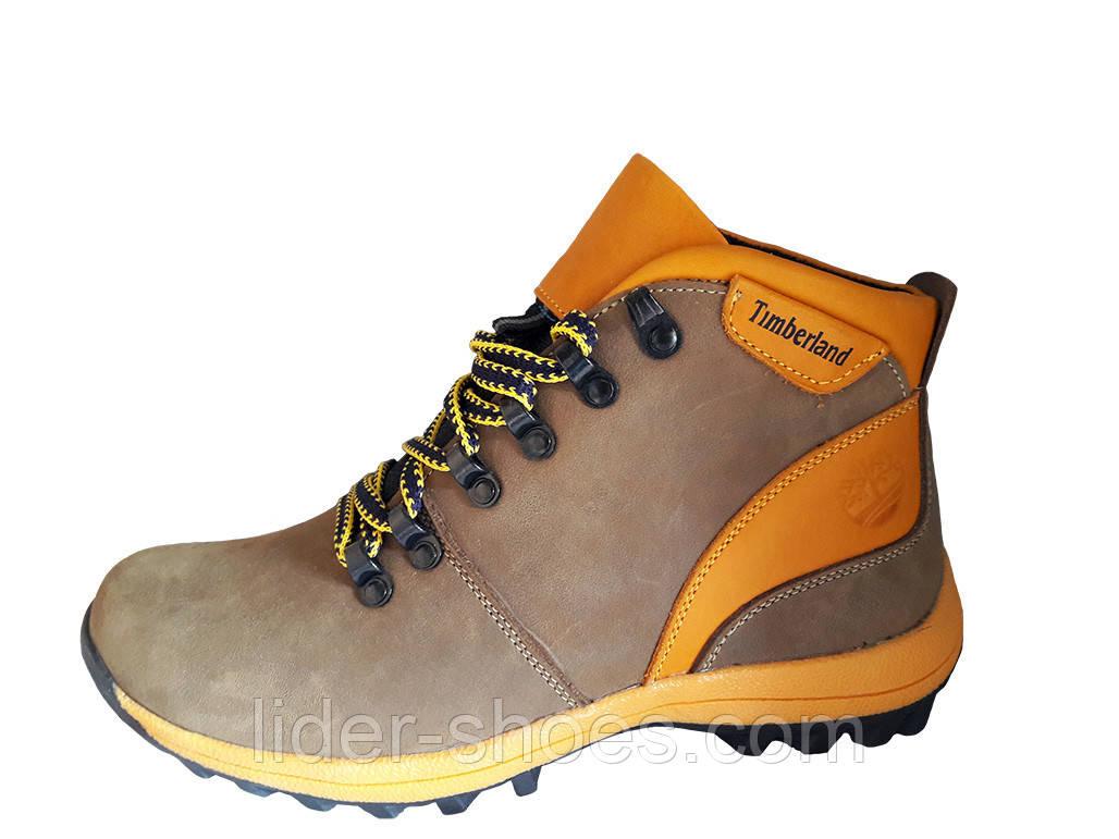 Ботинки подростковые кожаные реплика