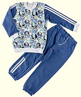 Пижама для мальчиков ТМ Ля-Ля, интерлок (артикул 3ТК16, 3ТК160, 3ТК165) 104