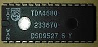 Видео процессор  TDA4680 микросхема.