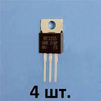 4 шт   IRF3205  110А  55V транзисторы полевые