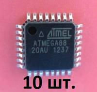 10 ШТ.   ATMEGA88 - 20AU    ATMEL микроконтроллеры